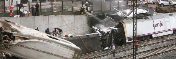 Train Accident Derailment In Spain Leaves 77 Dead